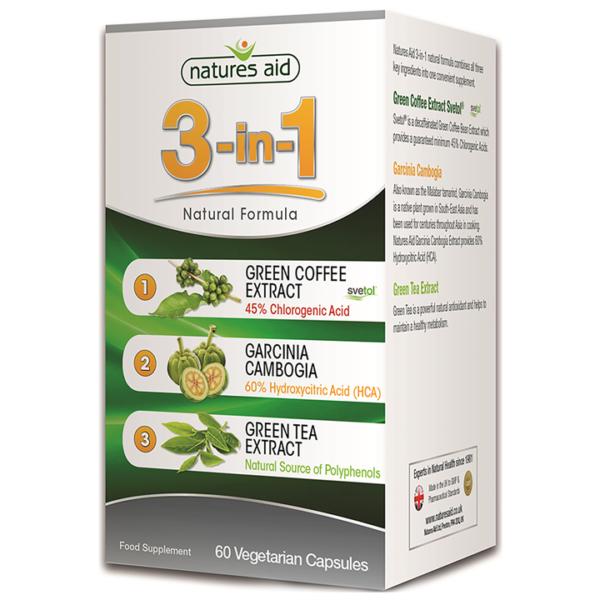 Natures Aid 3-in-1 Natural Formula