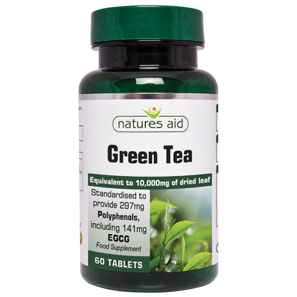 Natures Aid Green Tea 10