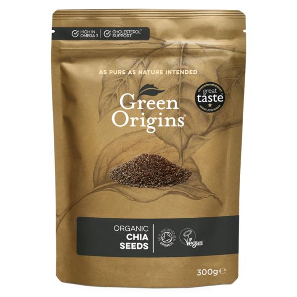 Green Origins Organic Chia Seeds (Raw)