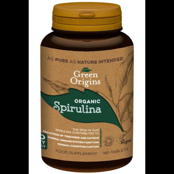 Green Origins Organic Spirulina Tablets