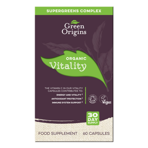 Green Origins Organic Vitality Capsules
