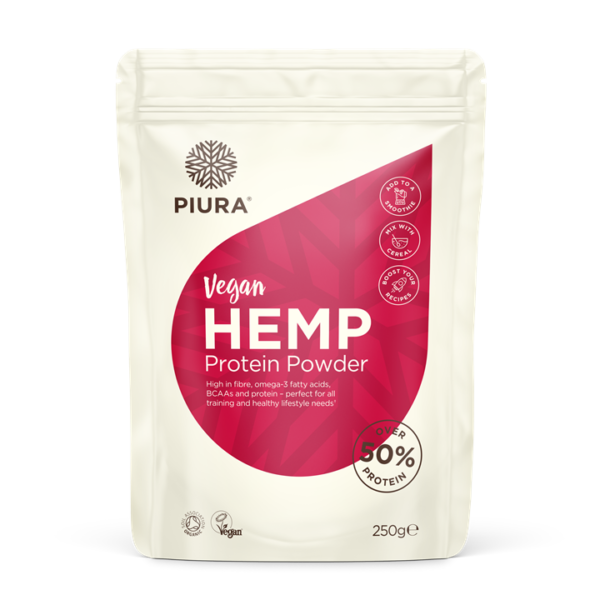 Piura Organic Hemp Protein Powder (50%)