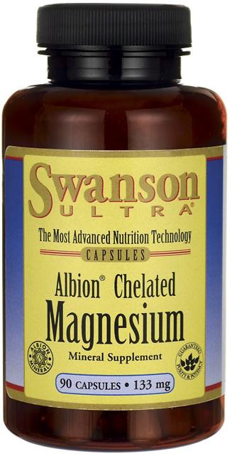 Swanson Albion Chelated Magnesium 133MG
