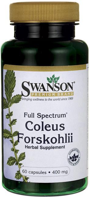 Swanson Full Spectrum Coleus Forskohlii 400MG