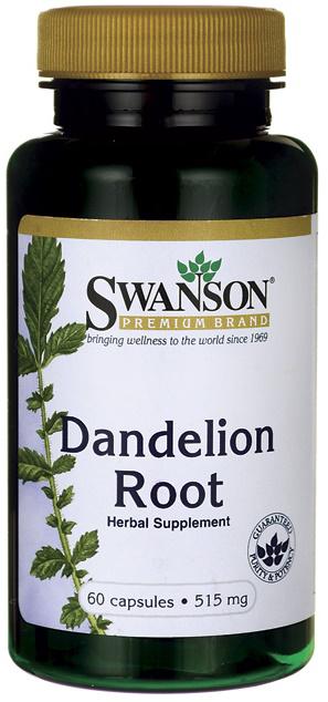 Swanson Dandelion Root 515MG