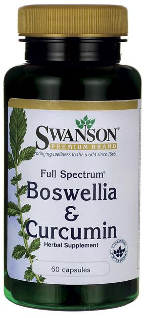 Swanson Full Spectrum Boswellia and Curcumin
