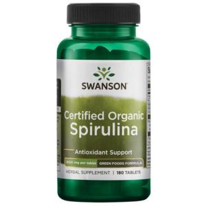 Swanson Greens Spirulina
