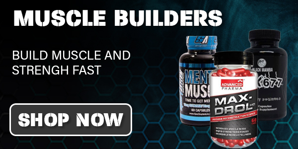 muscle builders, tablets for size and strength
